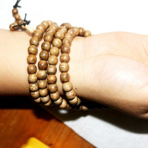 Vietnam agarwood Beaded Bracelet – Natural agarwood mala Beads Bracelet – Agarwood Meditation mala Beads – aloeswood Beads Bracelet – Tibetan mala Prayer Beads - agarwood Prayer 108 beads