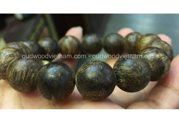 Vietnam agarwood Beaded Bracelet – Natural agarwood mala Beads Bracelet – agarwood Meditation mala Beads – aloeswood Beads Bracelet – Tibetan mala Prayer Beads - agarwood Prayer Beads 4
