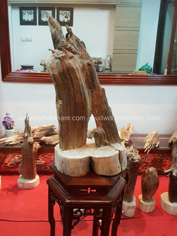 Rare Fragrance Agarwood Aloeswood Handy Sculpture Art Colletion Fengshui 3