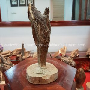 Rare Fragrance Agarwood Aloeswood Handy Sculpture Art Colletion Fengshui