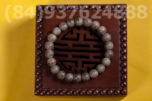 Vietnam agarwood Beaded Bracelet – Natural agarwood mala Beads Bracelet – Agarwood Meditation mala Beads – aloeswood Beads Bracelet – Tibetan mala Prayer Beads - agarwood Prayer beads 22