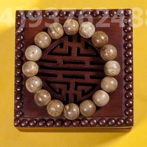 Vietnam agarwood Beaded Bracelet – Natural agarwood mala Beads Bracelet – Agarwood Meditation mala Beads – aloeswood Beads Bracelet – Tibetan mala Prayer Beads - agarwood Prayer beads 20