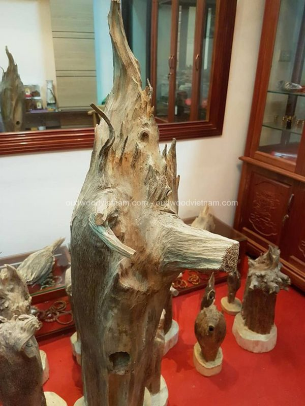 Rare Fragrance Agarwood Aloeswood Handy Sculpture Art Colletion Fengshui 1