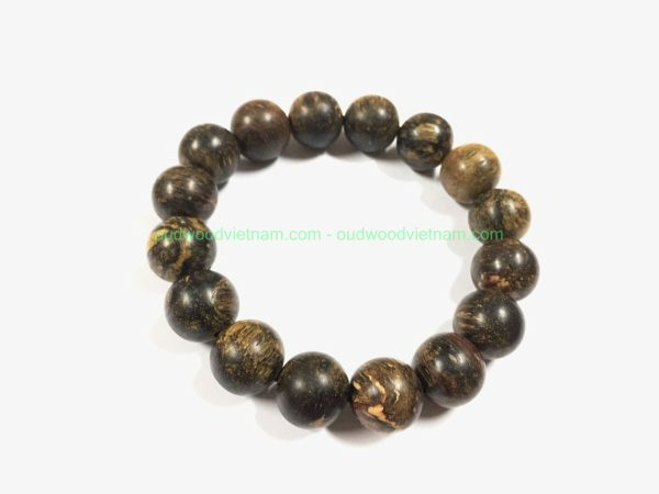 Vietnam agarwood Beaded Bracelet – Natural agarwood mala Beads Bracelet – agarwood Meditation mala Beads – aloeswood Beads Bracelet – Tibetan mala Prayer Beads - agarwood Prayer Beads 2