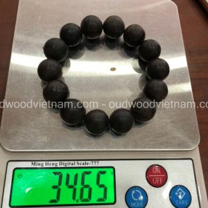 Vietnam agarwood Beaded Bracelet – Natural agarwood mala Beads Bracelet – Agarwood Meditation mala Beads – aloeswood Beads Bracelet – Tibetan mala Prayer Beads - agarwood Prayer Beads - Sinkable agarwood 2
