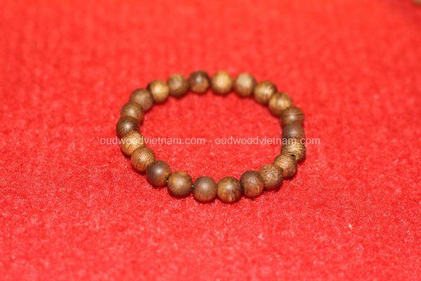Vietnam agarwood Beaded Bracelet – Natural agarwood mala Beads Bracelet – Agarwood Meditation mala Beads – aloeswood Beads Bracelet – Tibetan mala Prayer Beads - agarwood Prayer Beads 12