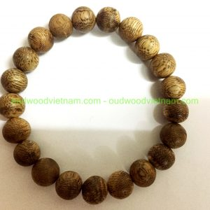 Vietnam agarwood Beaded Bracelet – Natural agarwood mala Beads Bracelet – Agarwood Meditation mala Beads – aloeswood Beads Bracelet – Tibetan mala Prayer Beads - agarwood Prayer Beads 9