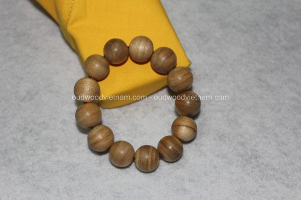 Vietnam agarwood Beaded Bracelet – Natural agarwood mala Beads Bracelet – Agarwood Meditation mala Beads – aloeswood Beads Bracelet – Tibetan mala Prayer Beads - agarwood Prayer Beads 8