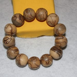 Vietnam agarwood Beaded Bracelet – Natural agarwood mala Beads Bracelet – Agarwood Meditation mala Beads – aloeswood Beads Bracelet – Tibetan mala Prayer Beads - agarwood Prayer Beads 7
