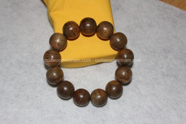Vietnam agarwood Beaded Bracelet – Natural agarwood mala Beads Bracelet – Agarwood Meditation mala Beads – aloeswood Beads Bracelet – Tibetan mala Prayer Beads - agarwood Prayer Beads 5