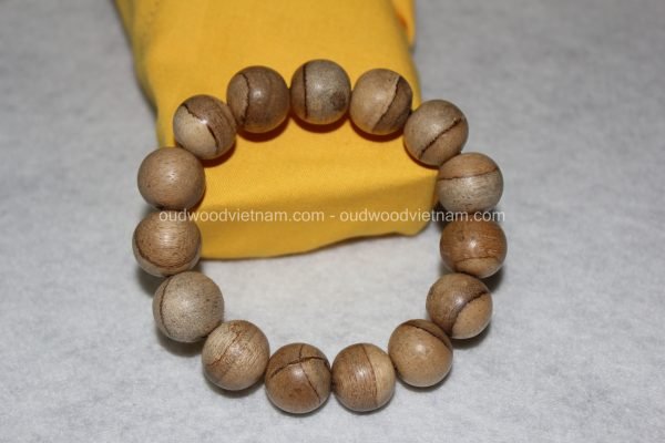 Vietnam agarwood Beaded Bracelet – Natural agarwood mala Beads Bracelet – Agarwood Meditation mala Beads – aloeswood Beads Bracelet – Tibetan mala Prayer Beads - agarwood Prayer Beads 6