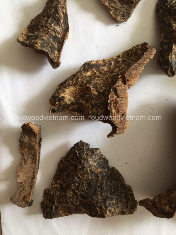 Vietnam Nha Trang Sink Oud Wood Chips Incense Aroma Agarwood Chips | Natural Wild and Rare Agarwood Chips from Oudwood Vietnam | Pure Material Grade A++